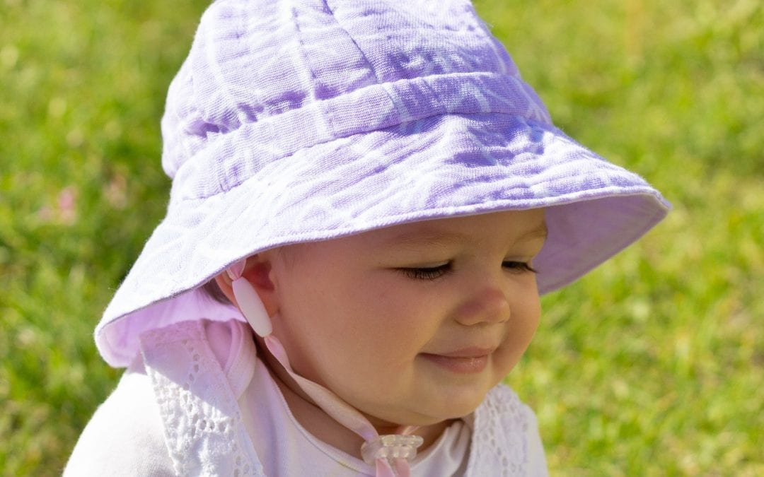 How to add an Adjustable Breakaway Safety Chin Strap to Any Sun Hat