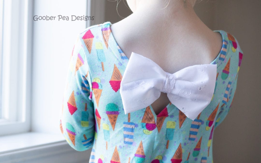 Little Bow Danica – an adorable pattern mash up!