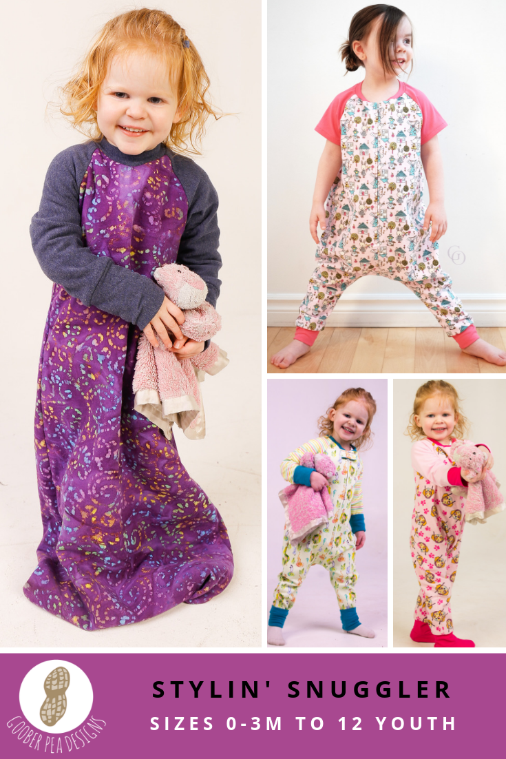 printable PDF sewing pattern, warm baby sleep sack, zipper, toddler sizes, easy to follow with great instruction for installing a zipper on front OR back (back zipper to prevent toddlers from stripping it off). Secure, cozy, sleep sack / pajamas. Lounge suit for older children. #sleepsacksewingpattern #sewingpattern #sleepsuitsewingpattern #onesiesewingpattern