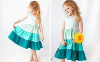 How to Sew a Tiered Skirt