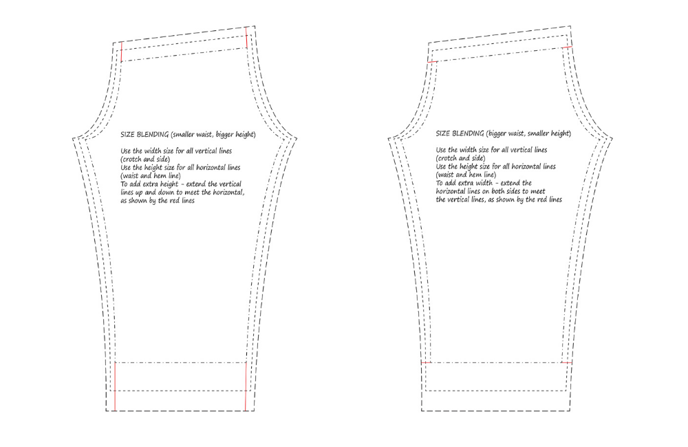 Blending Sizes on Pants For the Perfect Fit