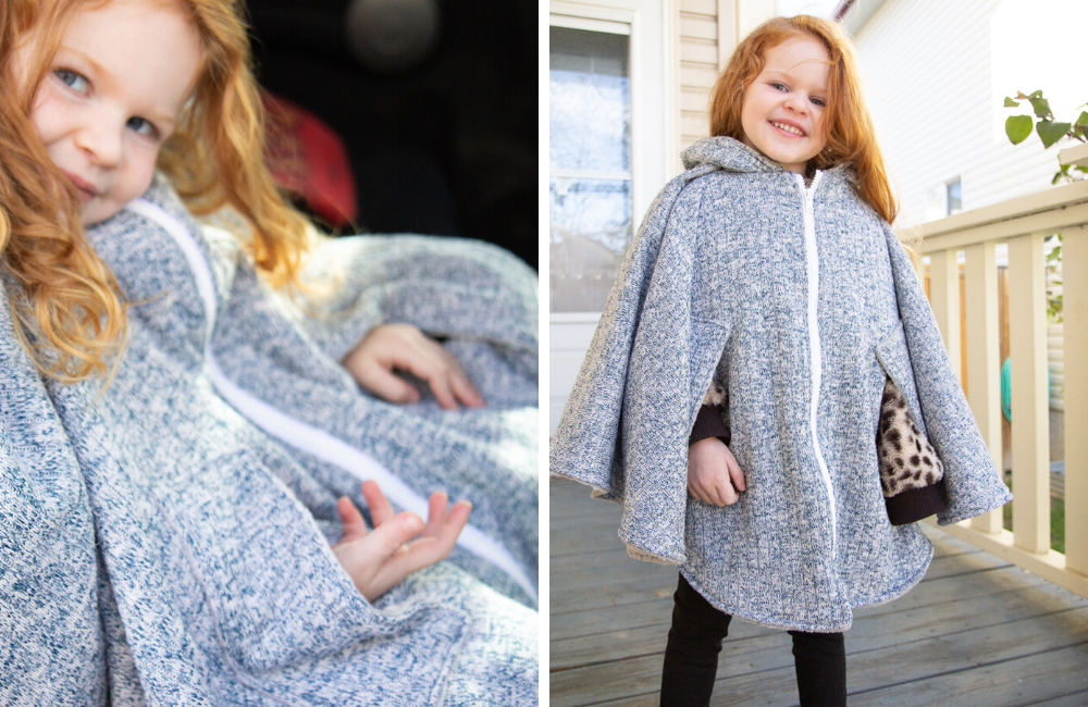 How to Add Arm Holes to ANY Car Seat Poncho!