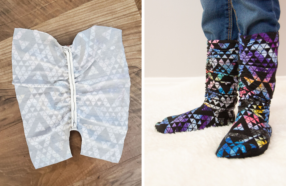 How to Make Slouchy Ruched Slipper Boots